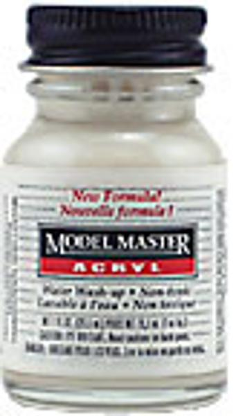 Testors Acrylic Automobile Color - Model Master(TM) Acryl - Semi-Gloss Clear Coat 1oz 30ml Hobby #4637