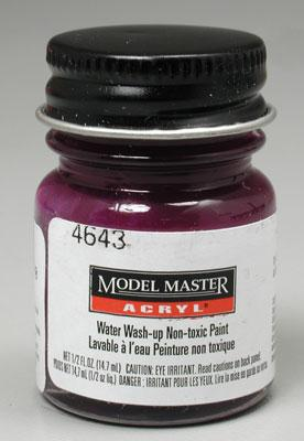 Testors Model Master Purple Pearl GP00356 1/2 oz Hobby and Model Acrylic Paint #4643