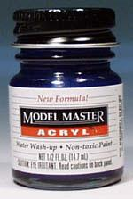 Testors Model Master Arctic Blue Metallic GP00483 1/2 oz Hobby and Model Acrylic Paint #4662