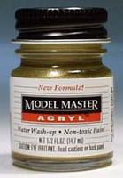 Testors Model Master Brass GP00639 1/2 oz Hobby and Model Acrylic Paint #4672