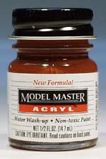 Testors Model Master Rust GP00668 1/2 oz -- Hobby and Model Acrylic Paint -- #4675