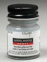 Testors Model Master Silver GP00835 1/2 oz Hobby and Model Acrylic Paint #4678