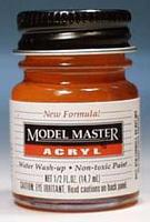 Testors (bulk of 6) Model Master International Orange FS12197 1/2 oz Hobby and Model Acrylic Paint #4682