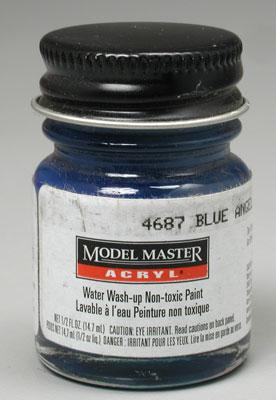 Testors Model Master Blue Angels Blue FS15050 1/2 oz Hobby and Model Acrylic Paint #4687