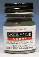 Testors Model Master Navy Gloss Gray FS16081 1/2 oz Hobby and Model Acrylic Paint #4691