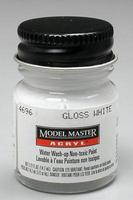Testors Model Master Gloss White FS17875 1/2 oz Hobby and Model Acrylic Paint #4696
