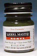 Testors Model Master Marine Corp Green FS34052 1/2 oz Hobby and Model Acrylic Paint #4724