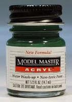 Testors Model Master Euro I Dark Green FS34092 1/2 oz Hobby and Model Acrylic Paint #4729