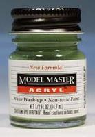 Testors Model Master Pale Green FS34227 1/2 oz Hobby and Model Acrylic Paint #4739