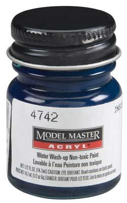 Testors Model Master Insignia Blue FS35044 1/2 oz -- Hobby and Model Acrylic Paint -- #4742