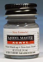 Testors Model Master Dark Gray FS36176 1/2 oz Hobby and Model Acrylic Paint #4754