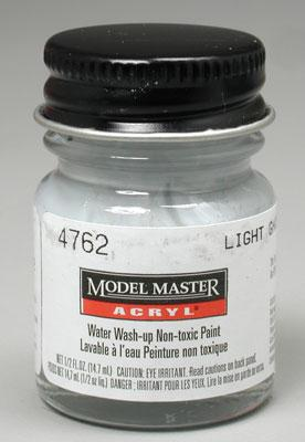 Testors Model Master Light Ghost Gray FS36375 1/2 oz -- Hobby and Model Acrylic Paint -- #4762