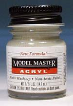 Testors Model Master Flat Gull Gray FS36440 1/2 oz Hobby and Model Acrylic Paint #4763