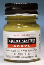 Testors Model Master Panzer Dunkelgelb AR00101 1/2 oz Hobby and Model Acrylic Paint #4796