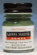 Testors Model Master Panzer Olivgrun AR00103 1/2 oz Hobby and Model Acrylic Paint #4798