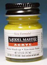 Testors Model Master Yellow Zinc Chromate AN00627 1/2 oz -- Hobby and Model Acrylic Paint -- #4851