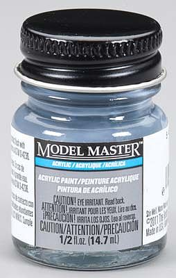 Testors Model Master 5-N Navy Blue Semi-Gloss 1/2 oz Hobby and Model Acrylic Paint #4867