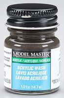 Testors Model Master Black Detail Wash 1/2 oz Hobby and Model Acrylic Paint #4871
