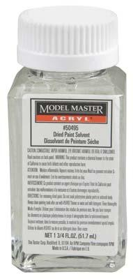 Testors (bulk of 12) Model Master Dried Paint Thinner 1-3/4 oz Hobby and Model Acrylic Paint #50495