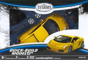 Testors Lamborghini Gallardo Plastic Model Car Kit 1/32 Scale #630017n
