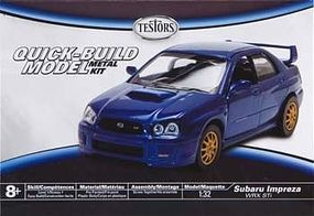 Testors Subaru Impreza WRX STI Plastic Model Car Kit 1/32 Scale #630018nt