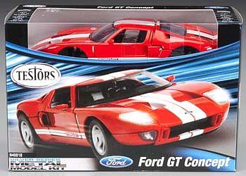 Testors 1/24 Ford GT Concept Metal