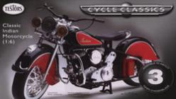 Testors 1/6 Indian Motorcycle Metal Body