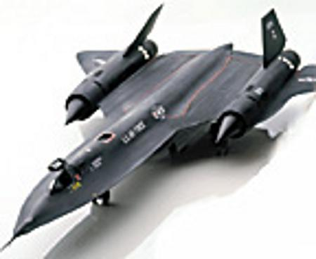 Testors 1/48 SR-71 Blackbird