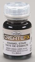 Testors FX Enamel Stain Gray 1 oz Hobby and Model Enamel Paint #79300