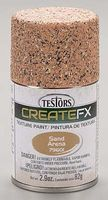 Testors FX Spray Enamel Texture Sand 2.9 oz Hobby and Model Enamel Paint #79601