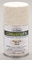 Testors FX Spray Enamel Texture Snow Cap 2.9 oz Hobby and Model Enamel Paint #79602