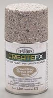 Testors FX Spray Enamel Texture Gravel 2.9 oz Hobby and Model Enamel Paint #79603