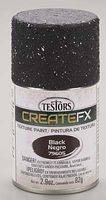 Testors FX Spray Enamel Texture Black 2.9 oz Hobby and Model Enamel Paint #79605