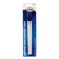Testors (bulk of 6) Brush Set,2 Broad,1 Fine