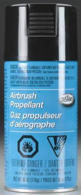 Testors Aztek Propellant Airbrush Accessory #8822b