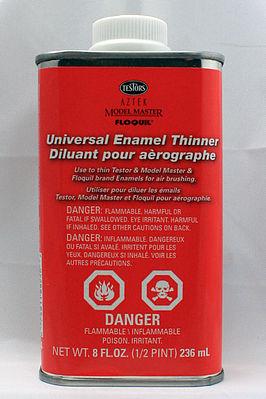 Airbrush Thinner 1/2 pint