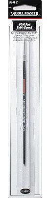 Testors MM Brush,Red Sable Round,3/0