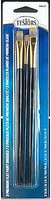 Testors FLAT BRUSHES-SET OF 3