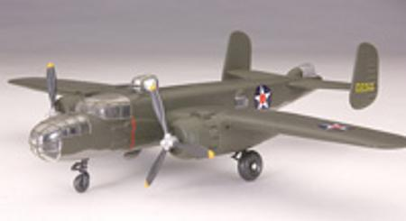 Testors B-25 Mitchell -- Snap Tite Plastic Model Aircraft Kit -- 1/72 Scale -- #890002
