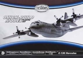 Testors C-130 Hercules Plastic Model Airplane Kit 1/130 Scale #890007n