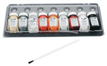 Testors Auto Detail Paint Set Hobby and Model Paint Set #9120