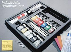 Testors Enamel Finishing Kit Gloss -- Hobby and Model Paint Set -- #9161