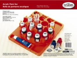 Testors Acrylic Finishing Kit Carousel Hobby and Model Paint Set #9178