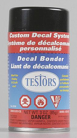 Testors Decal Bonder Refill Spray 3 oz Hobby Simulator Accessory #9200