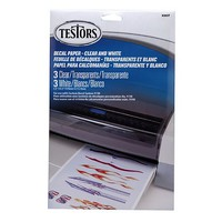 Testors Decal Paper Assortment
