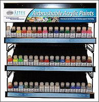 Testors (bulk of 3) Aztek Airbrushable Opaque White Acrylic 2 oz Hobby and Model Acrylic Paint #9440