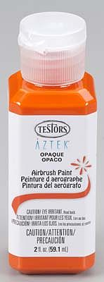 Bulk of 3 aztek airbrushable opaque orange acrylic 2 oz for Acrylic paint in bulk
