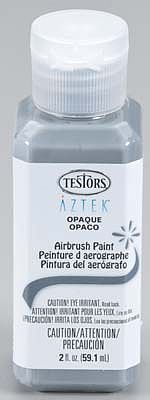 Bulk of 3 aztek airbrushable opaque dark gray acrylic 2 for Acrylic paint in bulk