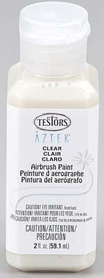 Bulk of 3 aztek airbrushable clear matte acrylic 2 oz for Acrylic paint in bulk