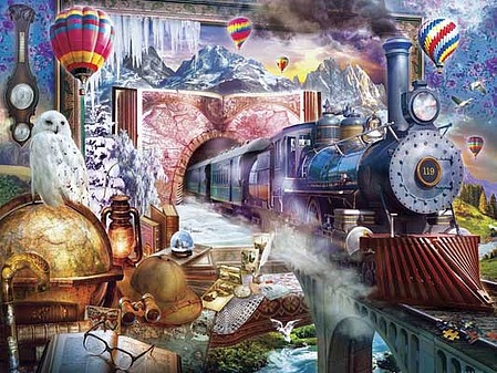 Train-Enthusiast Magical Journey Pzl 300pc